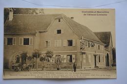 BOFZHEIM-auberge Alasacienne Avec Son Enseigne Renaissance - Otros Municipios