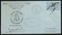 Entiers Postaux - Mission Maritime, Paquebot Marion-Dufresne, Armée De L'air Détachement Heliker (TAAF) - Polare Shiffe & Eisbrecher