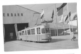 MEUNCHEN MUNICH (Allemagne) Photographie EXPOSITION DES TRANSPORT 1953 Rame Tramway électrique - Muenchen