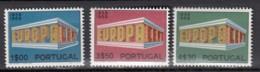 € Portugal 1051 / 1053 .. Europa CEPT 1969 .. Neufs Sans Charnière Ni Trace ** MNH .. Cote YT 2020 = 24.00 € - Europa-CEPT