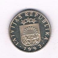 50 SANTIMS 1992 LETLAND /4028/ - Latvia