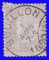 COB N° 36 - Timbre D'Attende - Belle Oblitération - BOUILLON - 1883 Léopold II