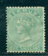 1865 Bermuda Islands, Queen Victoria,Definitives,1 Sch.,Mi.5 A,CV$450,MH - Bermuda