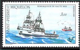 St Pierre Et Miquelon 1989 La Malabar Ocean Going Tug Unmounted Mint. - St.Pierre & Miquelon