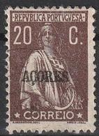 Açores Portugal, 1912 - Ceres -|- Afinsa 160 - 20 C. - Azores