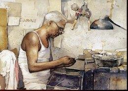54797 Singapore, Stationery Card  Airmail 30c. Indian Goldsmith, - Singapore (1959-...)