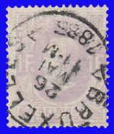 COB N° 36 - Belle Oblitération - BRUXELLES 7 - 1883 Léopold II