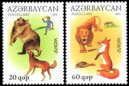 166 - Azerbaijan - 2010 - Europa Children's Books - 2v - MNH - Lemberg-Zp - Azerbaïjan