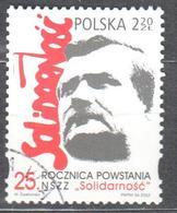 Poland 2005 - Lech Walesa - Mi 4205 - Used Gestempelt - Usati
