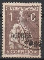 Açores Portugal, 1918 - Ceres -|- Afinsa 164 - 1 C. - Azores