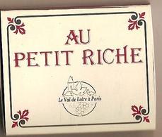 Boite D'allumettes Vide - Restaurant Au Petit Riche - Matchboxes