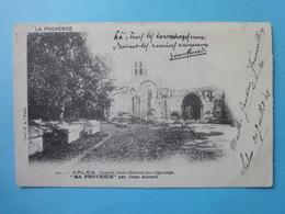 Arles-chapelle Saint-Honorat-des-Alycamps-Ma Provence Par Jean Aicard - Arles