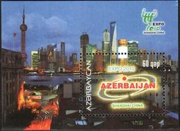 167 - Azerbaijan - 2010 - EXPO Shanghai - S/s - MNH - Lemberg-Zp - Azerbaïjan