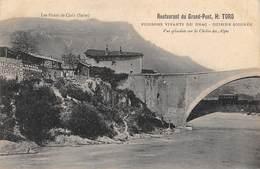 Claix           38          Restaurant Du Grand Pont  H.Tord     (Voir Scan) - Claix