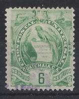 """GUATEMALA....."""" 1900...""""....SG104.........VFU... - Guatemala"""