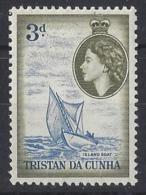 "TRISTAN DA CUNHA......QUEEN ELIZABETH II.(1952-NOW)........."" 1954...""....3d.....SG19.........MH... - Tristan Da Cunha"