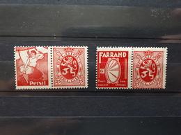 Timbres Belges : Publicité 1929 1931 COB N° PU 16, 18   NEUF *  & - Werbung