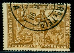 1898 Vasco Da Gama,discovery Sea Route To India,Elephant,Portugal,145, 150R,VFU - 1892-1898 : D.Carlos I