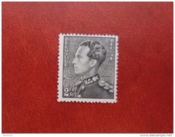 Belgium 1940 - King Albert III New Values - 2.5 Fr Mi 528 MNH - Occupation WW2 War Deluxe Rare - Belgium