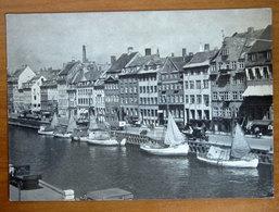 DANIMARCA Copenhagen  Nyhavn - Barca Ship Cartolina  Viaggiata - Danimarca
