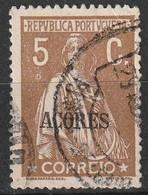 Açores Portugal, 1918 - Ceres -|- Afinsa 170 - 5 C. - Azores
