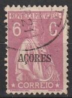 Açores Portugal, 1921 - Ceres -|- Afinsa 171 - 6 C. - Azores