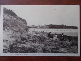 56 - ARZON - La Plage De Kerjouanno Et Le Rocher Saint-Nicolas - Presqu'ile De Rhuys. - Arzon