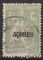 Açores Portugal, 1918 - Ceres -|- Afinsa 168 - 3 1/2  C. - Azores