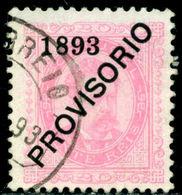 1893 King Carlos I,Definitives,PROVISORIO,Portugal,Mi.89 , 20R ,VFU - 1892-1898 : D.Carlos I