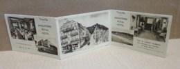 TROUVILLE SUR MER (14) Angleterre Royal Hotel Publicité Type Carte Postale 3 Volets - Trouville