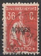 Açores Portugal, 1921 - Ceres -|- Afinsa 183 - 36  C. - Azores