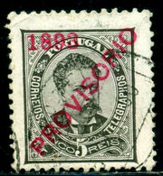1893 King Carlos I,Definitives,PROVISORIO,Portugal,Mi.87 , 5R ,VFU - 1892-1898 : D.Carlos I