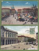 LOT De 24 CPA - ITALIE - PIEMONTE - TORINO (Turin 1) - (Toutes Scannées) - Collezioni & Lotti