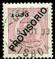 1893 King Carlos I,Definitives,PROVISORIO,Portugal,Mi.90 , 25R ,VFU - 1892-1898 : D.Carlos I