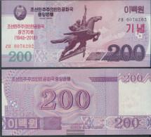 North-Korea Pick-number: CS New Uncirculated 2018 200 Won - Korea, Noord