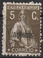 Açores Portugal, 1930 - Ceres -|- Afinsa 297 - 5 C. - Azores