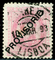 1892 King Carlos I,Definitives,PROVISORIO,Portugal,Mi.83 , 20R ,VFU - 1892-1898 : D.Carlos I