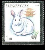 176 - Azerbaijan - 2011 - Year Of The Rabbit - 1v - MNH - Lemberg-Zp - Azerbaïjan