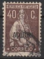 Açores Portugal, 1924 - Ceres -|- Afinsa 205 - 40 C. - Azores