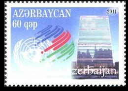 172 - Azerbaijan - 2011 - Candidate For The UN Security Council - 1v - MNH - Lemberg-Zp - Azerbaïjan