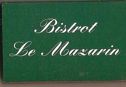 Boite D'allumettes Vide - Bristol Le Mazarin - Matchboxes