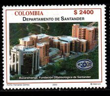 A298N-COLOMBIA- 2003 -MNH- SANTANDER DEPARTMENT - ARCHITECTURE IN BUCARAMANGA CITY - Kolumbien