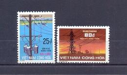 Vietnam/South Vietnam 1975 - Electrification Of Rural Areas -  Stamps 2v - Complete Set - MNH** - Excellent Quality - Vietnam