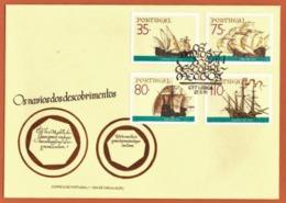 Portugal 1991 - FDC Os Navios Dos Descobrimentos  - 2° Grupo Cote € 6.60 - FDC
