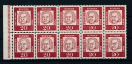 GERMANY Mi. Nr. HBl 14 B Dürer -siehe Scan - MNH - [7] République Fédérale
