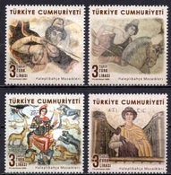 Turkey (2020) - Set -  /   National Heritage - Archaeology - Art - Mosaics - Archery - Horses - Music - Arqueología