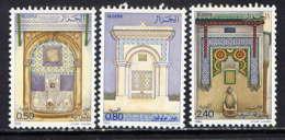ALGERIE - 809/811** - FONTAINES DU VIEIL ALGER - Algerien (1962-...)