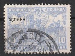 Açores Portugal, 1925 - Padrões Da Grande Guerra -|- Afinsa 11 - 10 C. - Azores