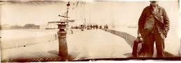76 LE HAVRE - La Jetée ! Photo Panoramique Originale Albuminée De 1894 ! - Old (before 1900)