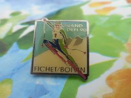 A057 -- Pin's Grand Defi Ski Fichet / Boivin - Wintersport